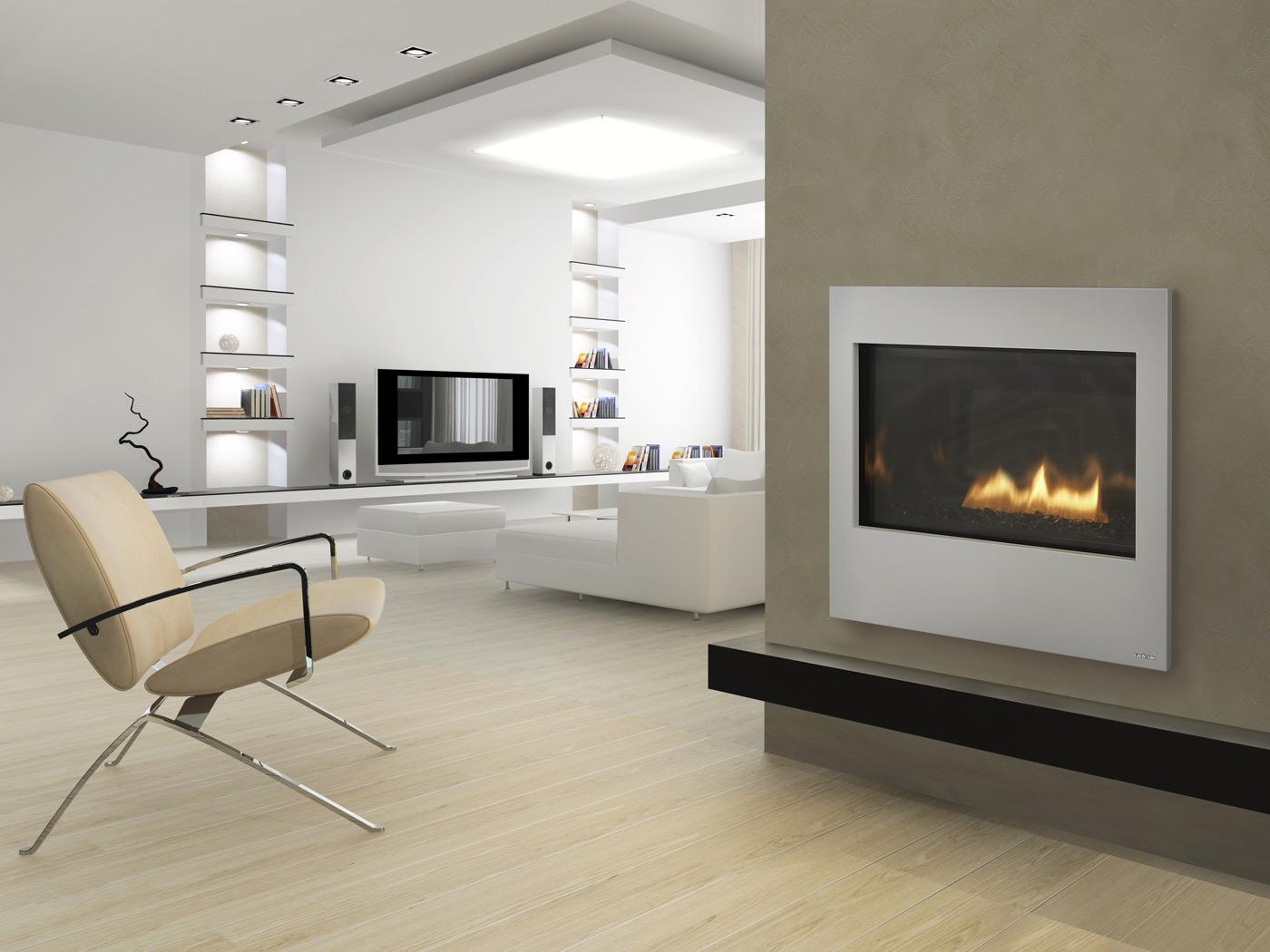 Modern home fireplace mantels fireplace design ideas for Modern hearth designs