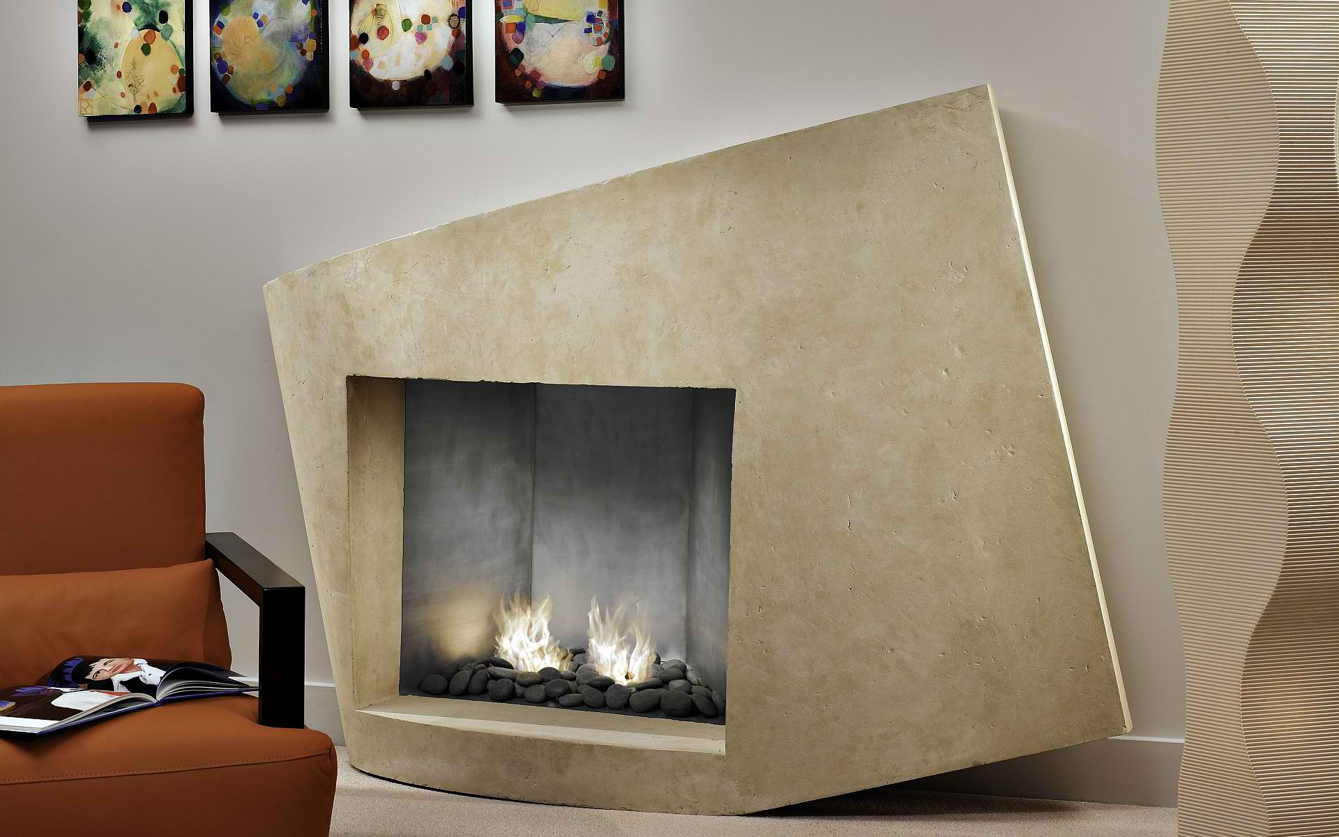 fireplace surround design ideas with granite - Fireplace Surround Design Ideas