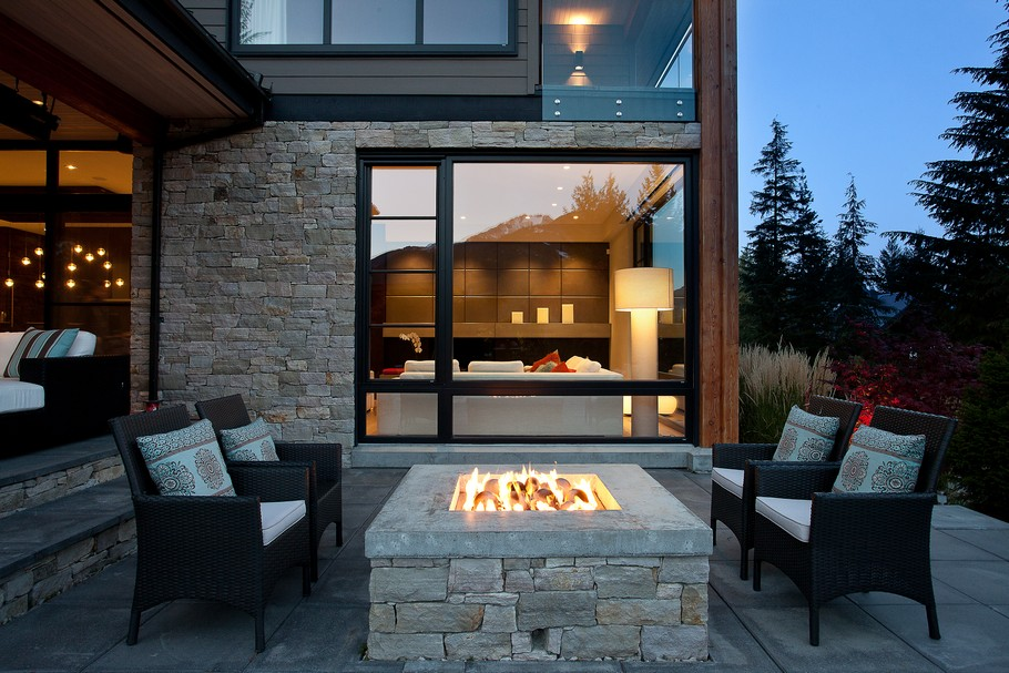 Where To Install Your Modern Outdoor Fireplace FIREPLACE