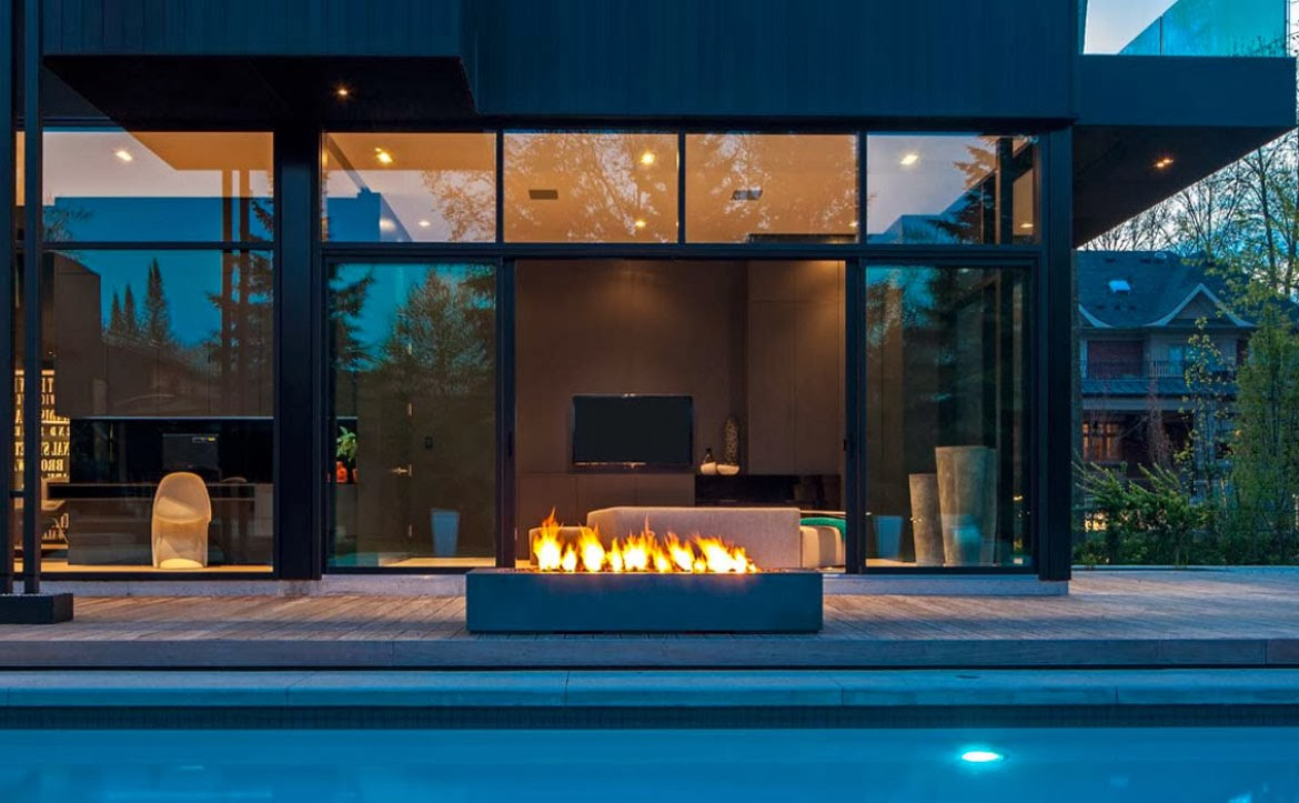Where To Install Your Modern Outdoor Fireplace FIREPLACE DESIGN IDEAS