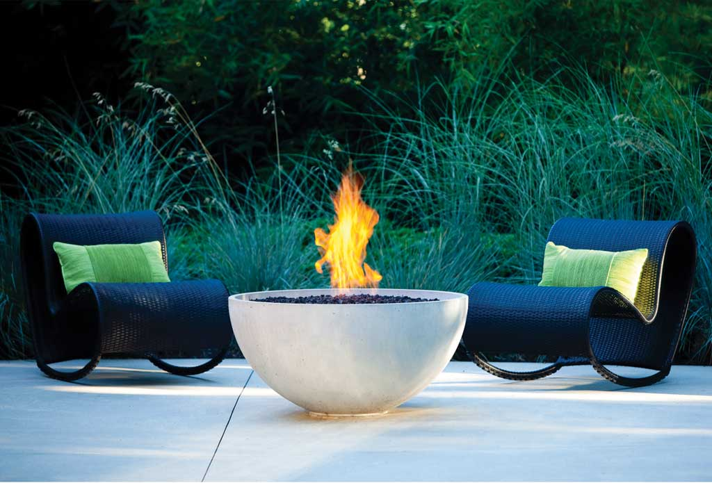 Modern Outdoor Fireplace Kits