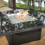 Modern Outdoor Fireplace Table