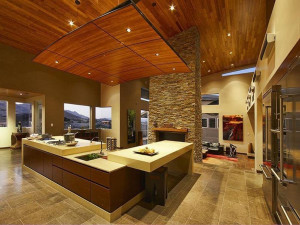 Modern Stone Fireplace Design Ideas