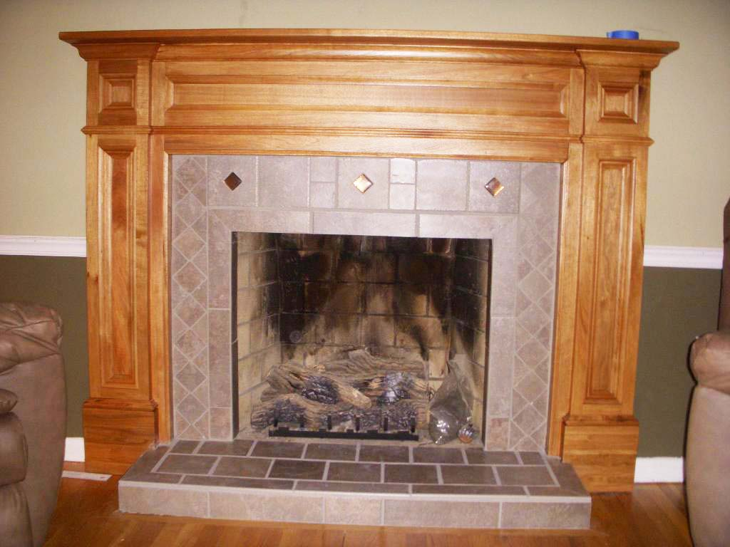Modern Wood Fireplace Mantels