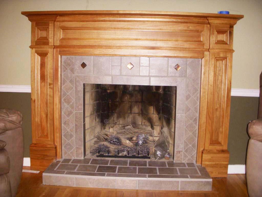 Modern Wood Fireplace Mantels Fireplace Design Ideas