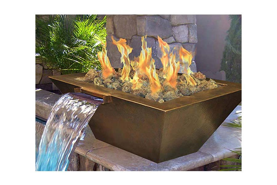 Natural Gas Fire Pit DIY