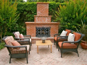 Outdoor Brick Fireplace Kits
