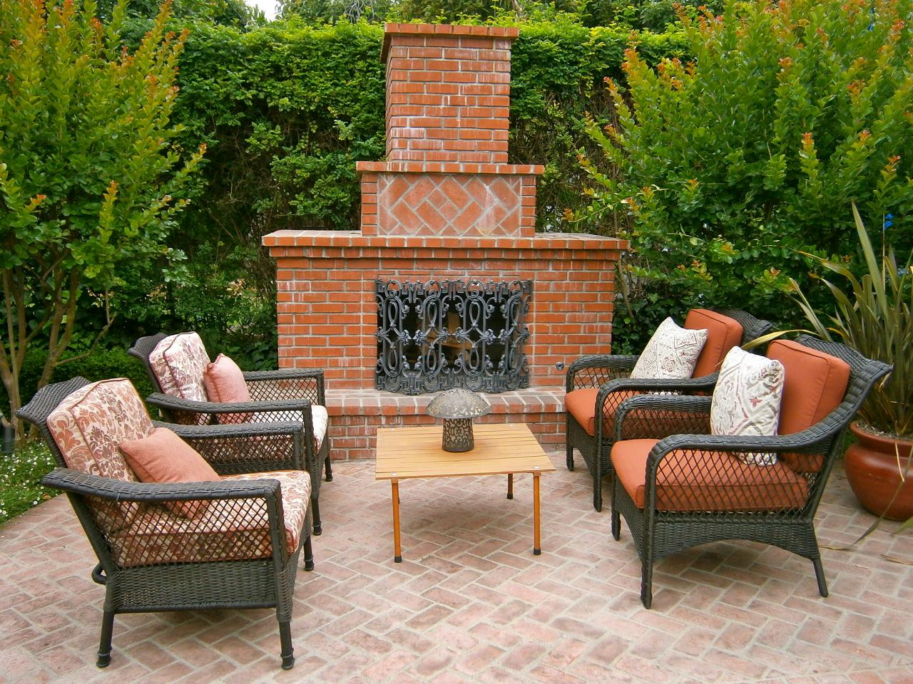 Outdoor Brick Fireplace Kits Fireplace Design Ideas