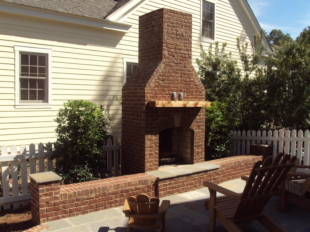 Outdoor brick fireplace plans fireplace design ideas for Outdoor fireplace designs plans