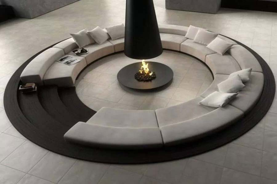 Fire Pit Hood Chimney ~ Outdoor fire pit chimney hood fireplace design ideas