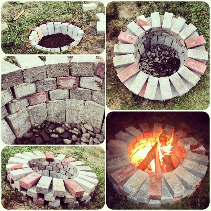 Outdoor fire pit designs brick fireplace design ideas for Best fire pit design