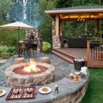 Outdoor Fire Pit Designs Patios