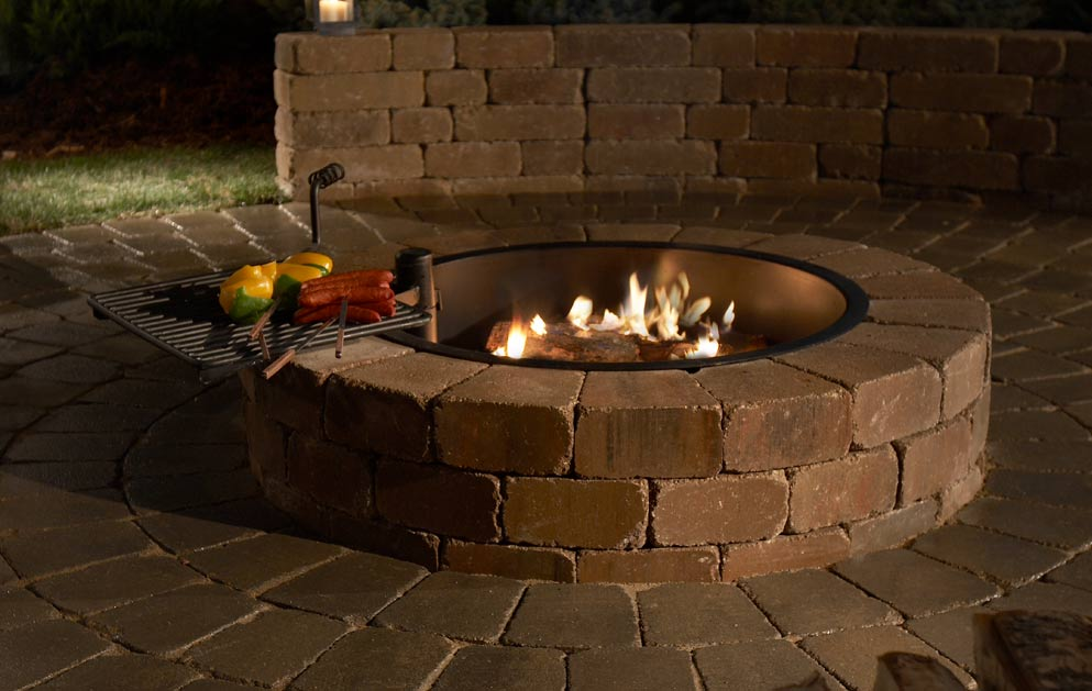 Outdoor Fire Pit Ring Insert