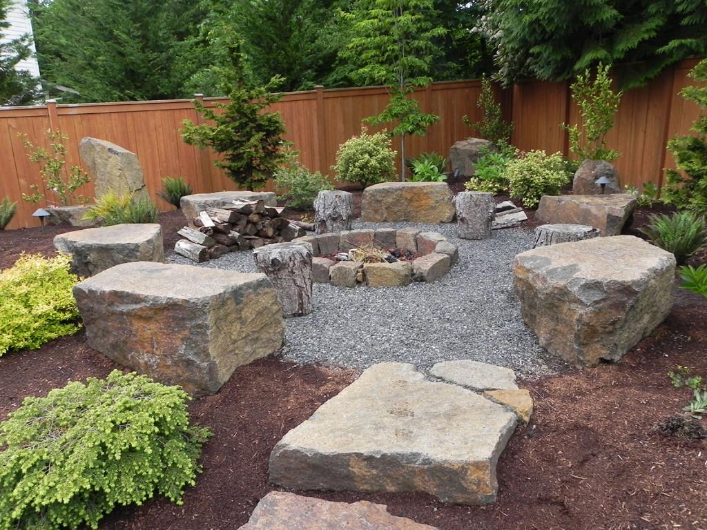 Outdoor Fire Pit Rocks