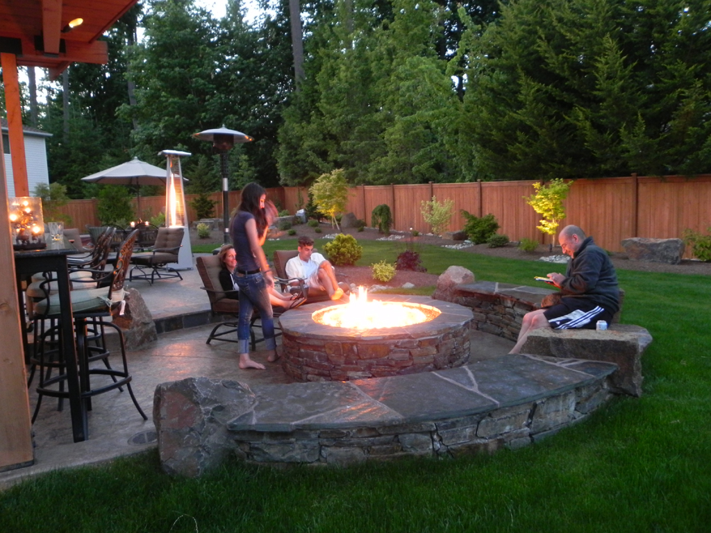 Diy Fire Pit Seating Fireplace Design Ideas