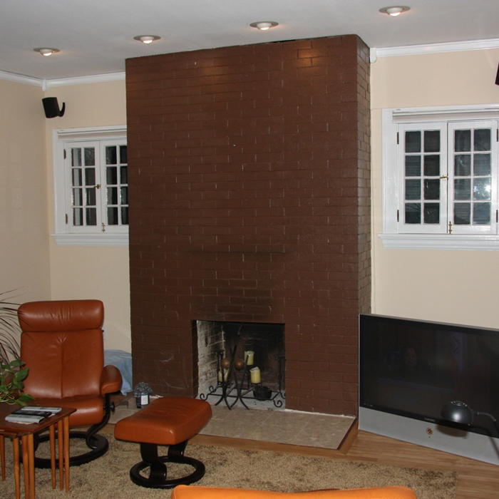 Paint colors for brick fireplace fireplace design ideas for Bricks painting design