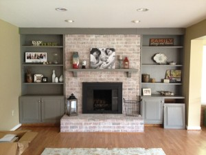 Paint Ideas for Brick Fireplace