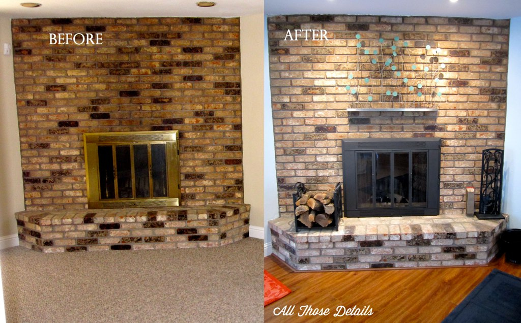 Paint Metal Fireplace Surround