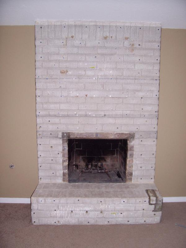 Paint Over Brick Fireplace
