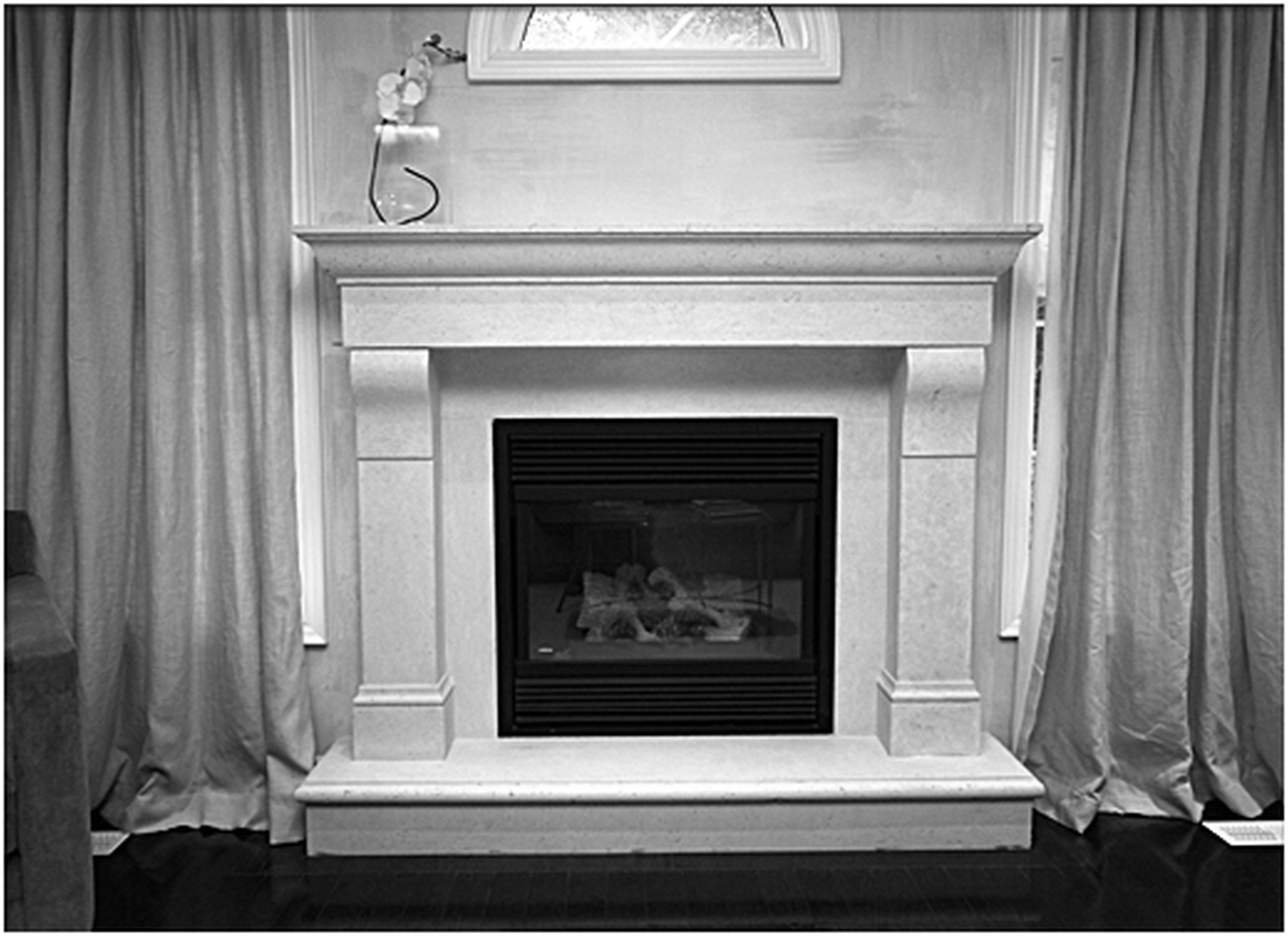 Painting Metal Fireplace Surround