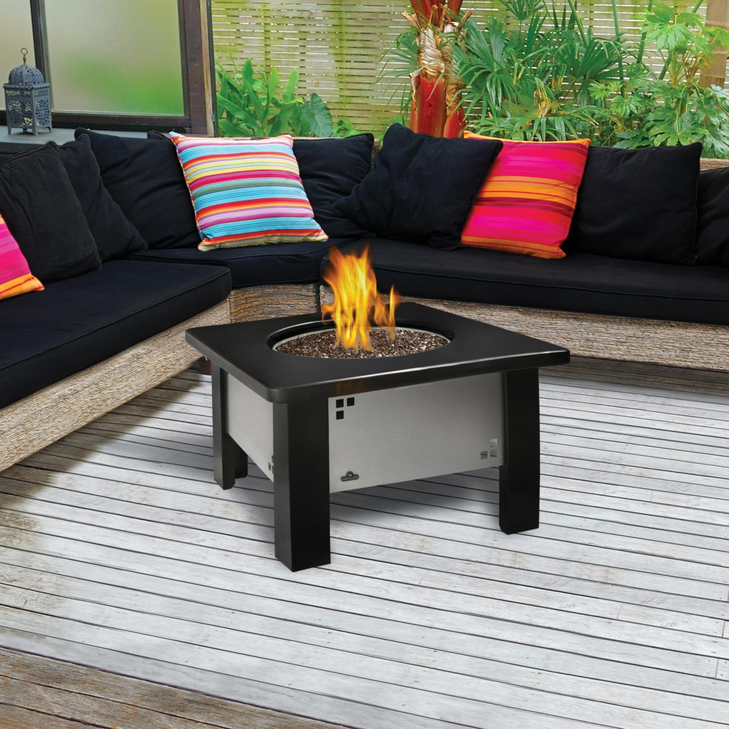 patio furniture with fire pit patio furniture with gas pit fireplace design ideas 29218