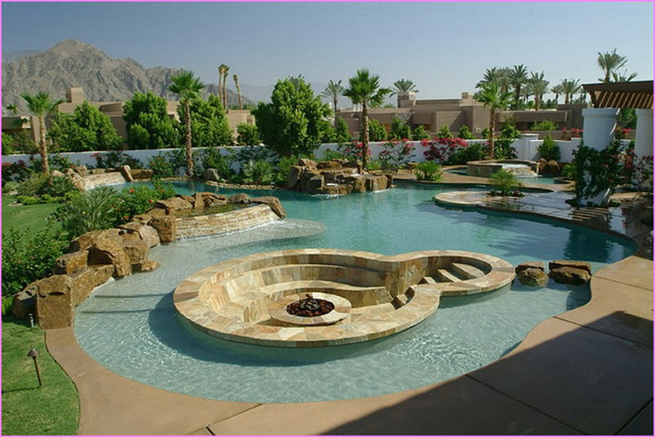 Paver patio designs with fire pit fireplace design ideas for Pool design regrets