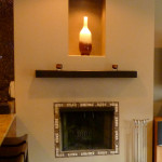Porcelain Tile Fireplace Surround