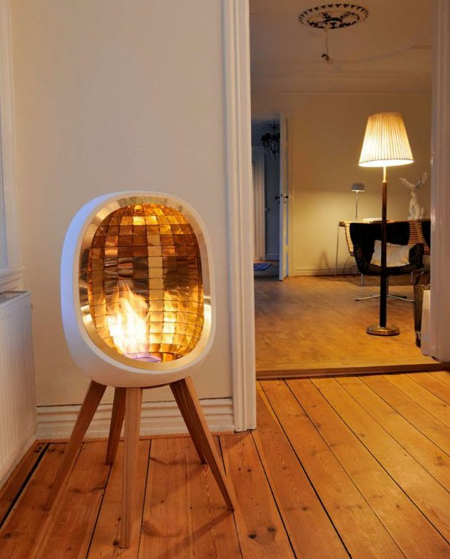 Portable fireplace indoor electric fireplace design ideas for Indoor fireplace design ideas