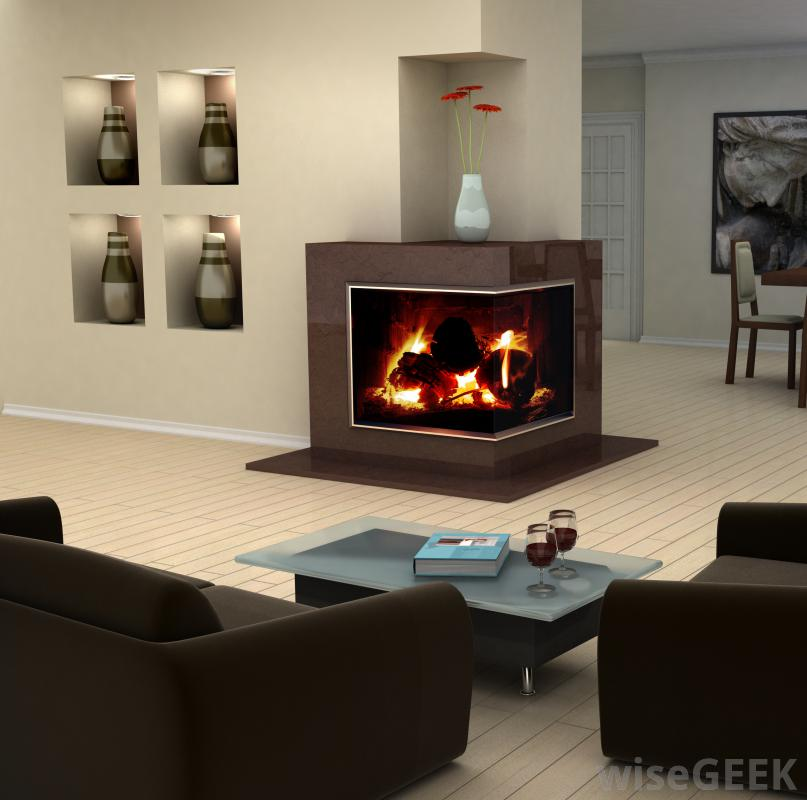 Portable Gas Fireplace Ventless