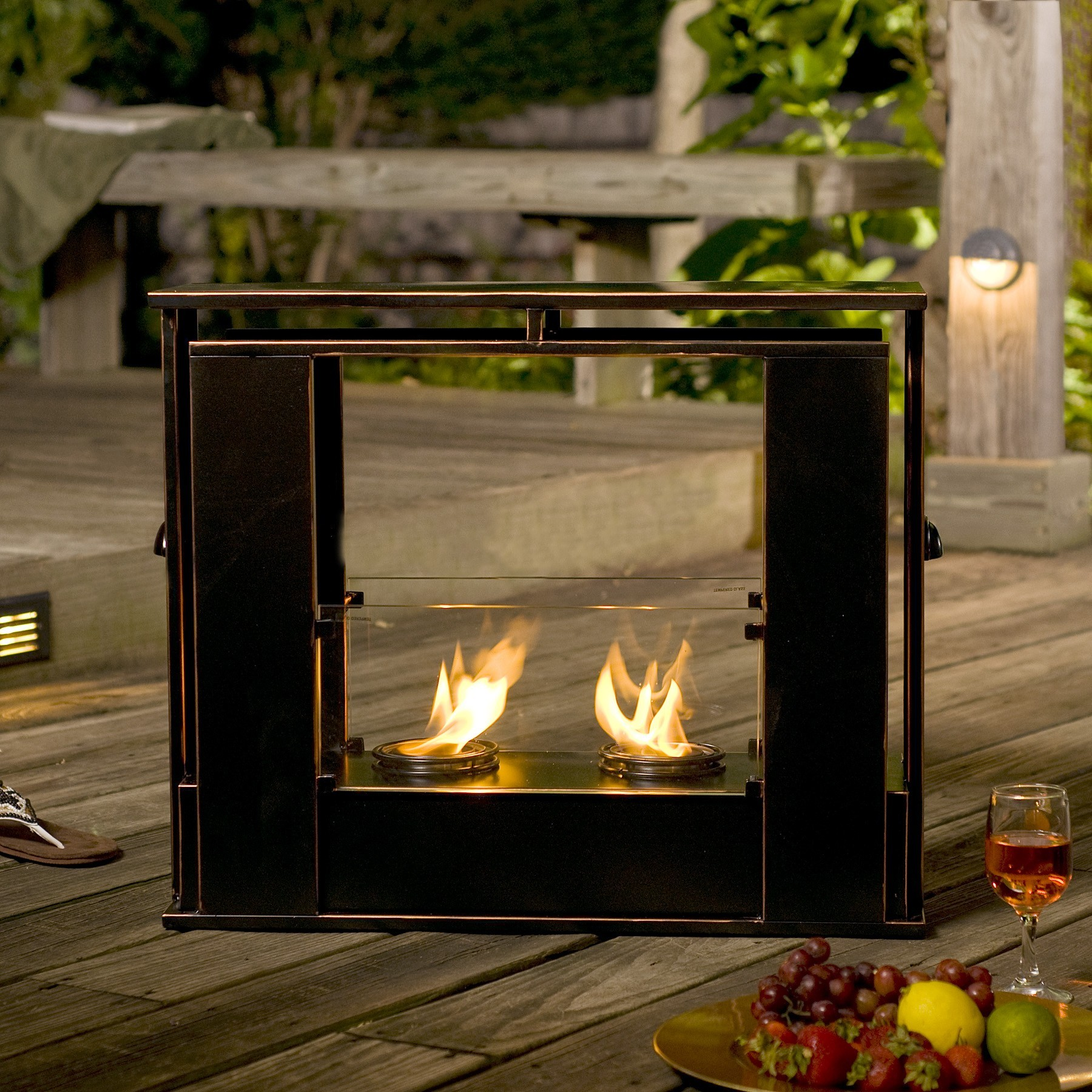 Portable Indoor Outdoor Fireplace | FIREPLACE DESIGN IDEAS