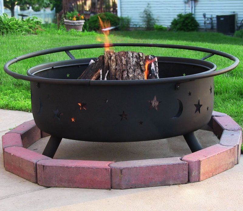 Portable Outdoor Fire Pit Grill