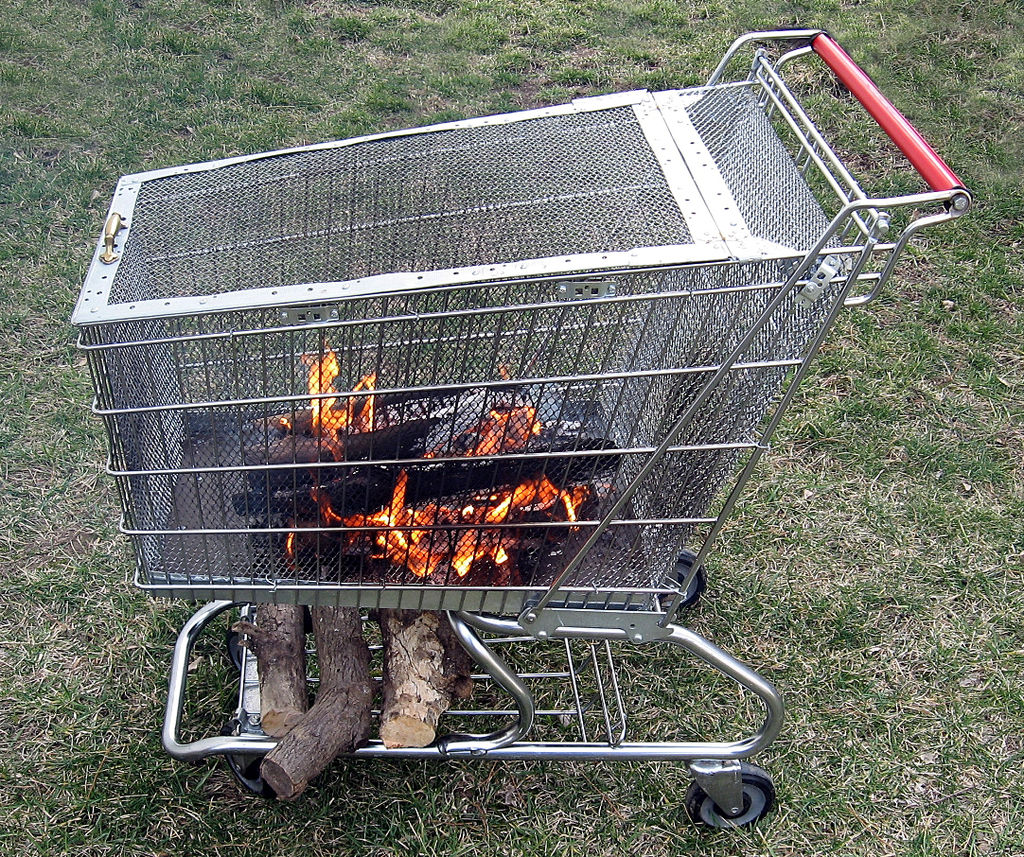 Portable Fire Pit For Camping : Portable outdoor fire pit ideas fireplace design