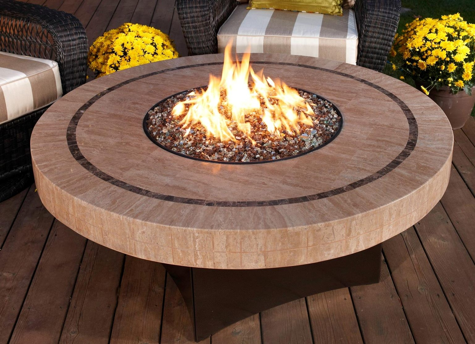 Portable Outdoor Gas Fire Pit