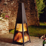 Portable Outdoor Gas Fireplace