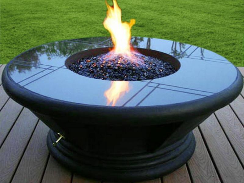 Portable Propane Outdoor Fire Pit Fireplace Design Ideas