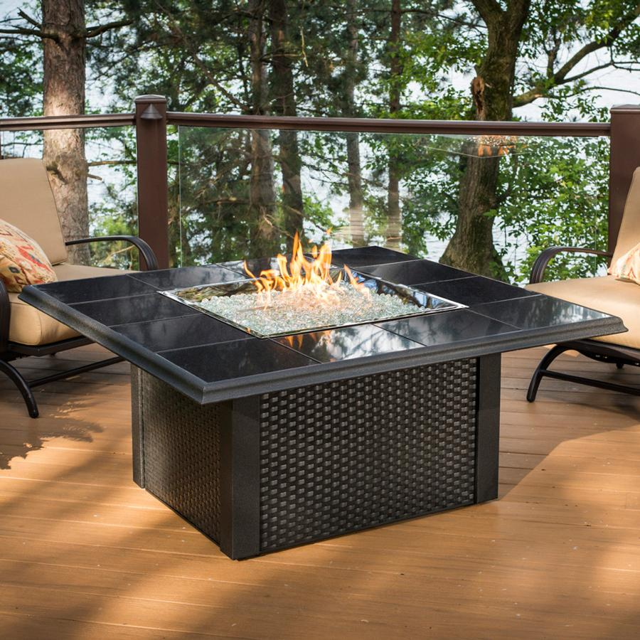Propane Fire Pit Glas Rocks - Propane Fire Pit Glas Rocks FIREPLACE DESIGN IDEAS
