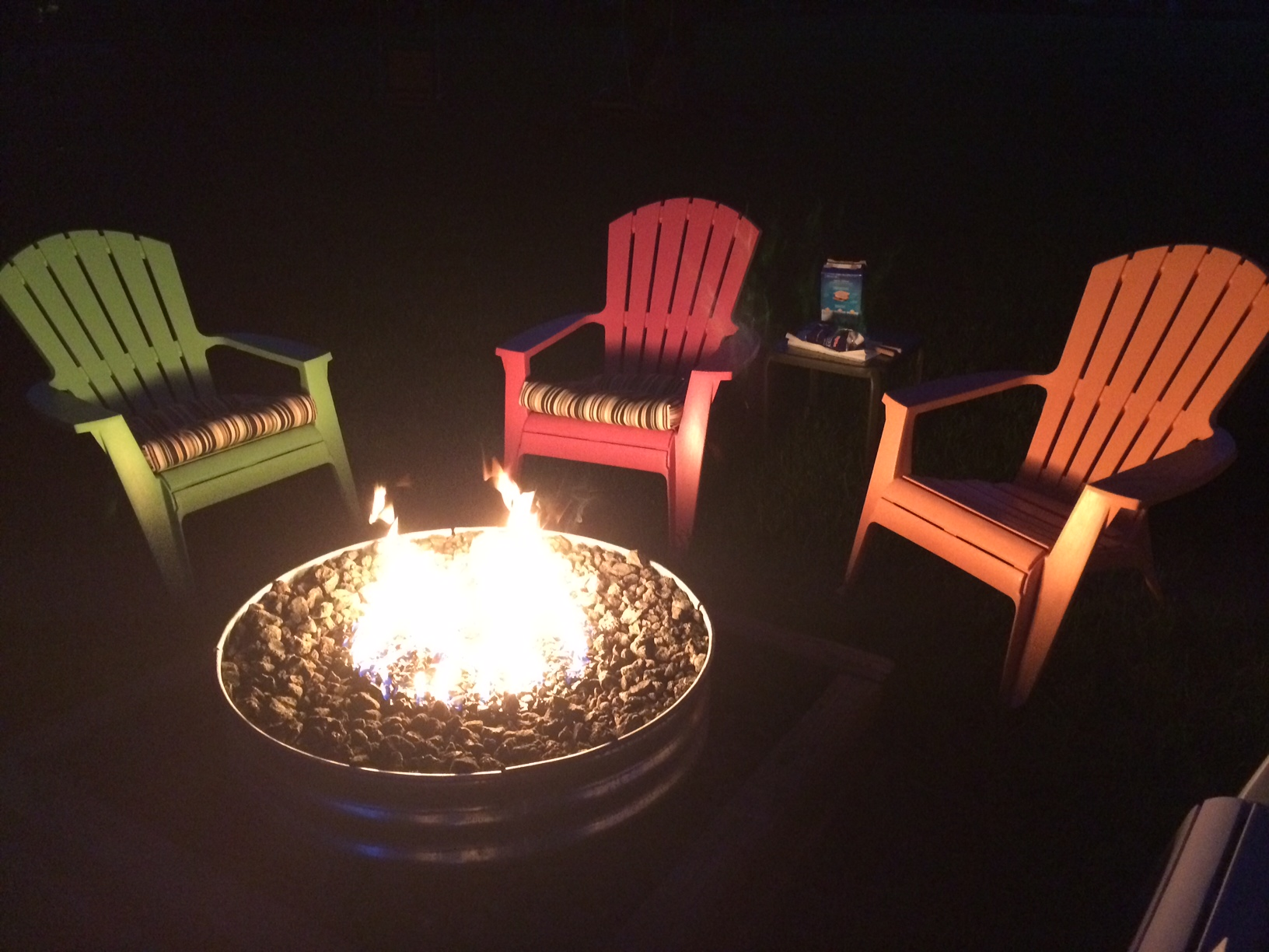Propane Tabletop Fire Pit