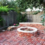 Red Brick Fire Pit Ideas