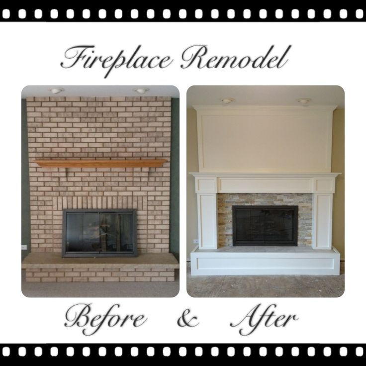 Pros and Cons of Brick Fireplace Remodel : Remodel Brick Fireplace Ideas. Remodel brick fireplace ideas. fireplace ideas