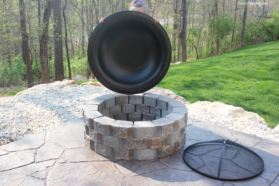 Replacement fire pit bowls fireplace design ideas for Fire pit bowl ideas