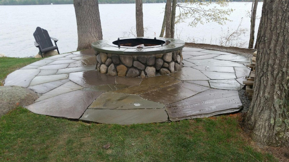 River Rock for Fire Pit