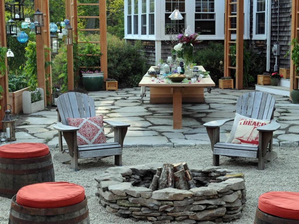 Rock Fire Pit Designs