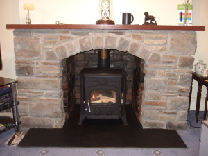 Slate Fireplace Hearth Stone