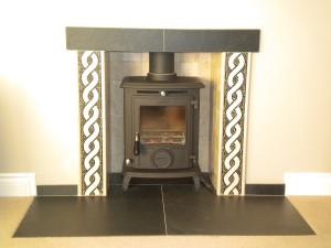 Slate Fireplace Hearth Tiles