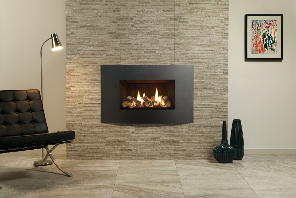 Slate Fireplace Surround Tile FIREPLACE DESIGN IDEAS