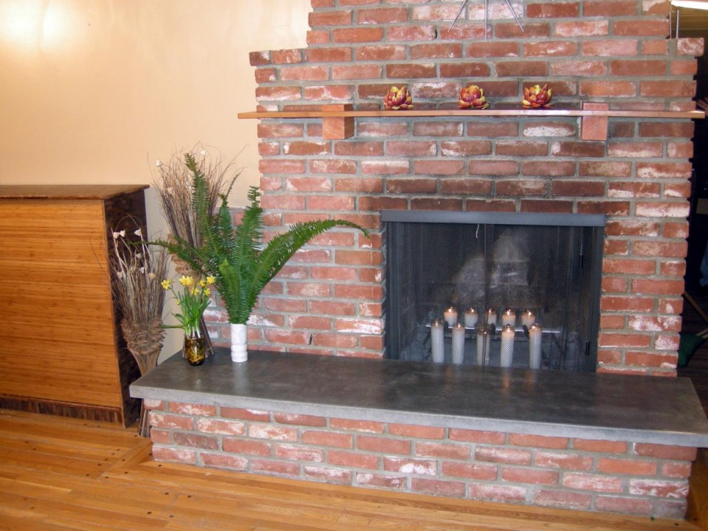 Slate Slab for Fireplace Hearth