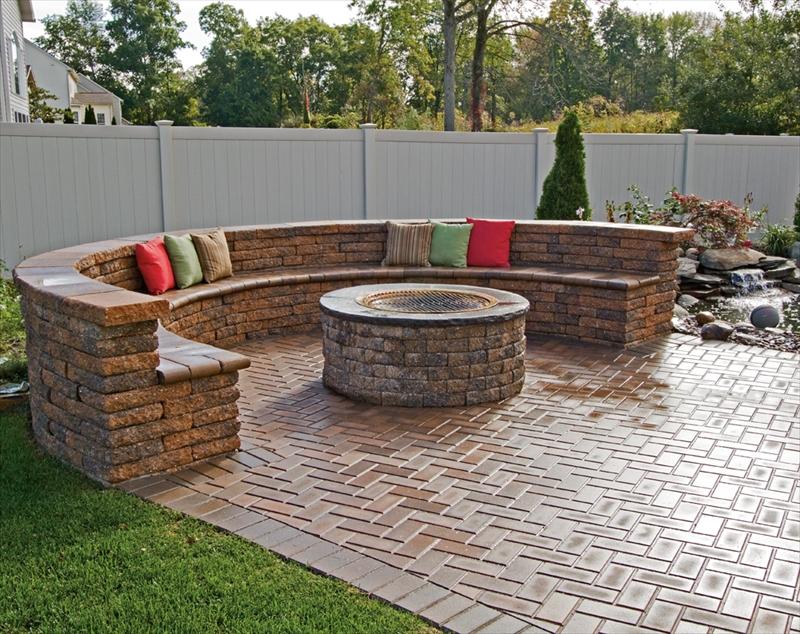 Small Backyard Fire Pit