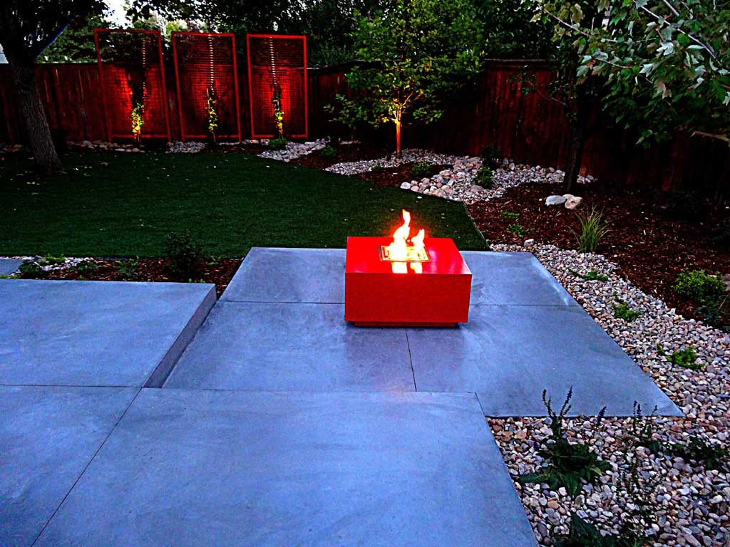 Small Gas Fire Pit