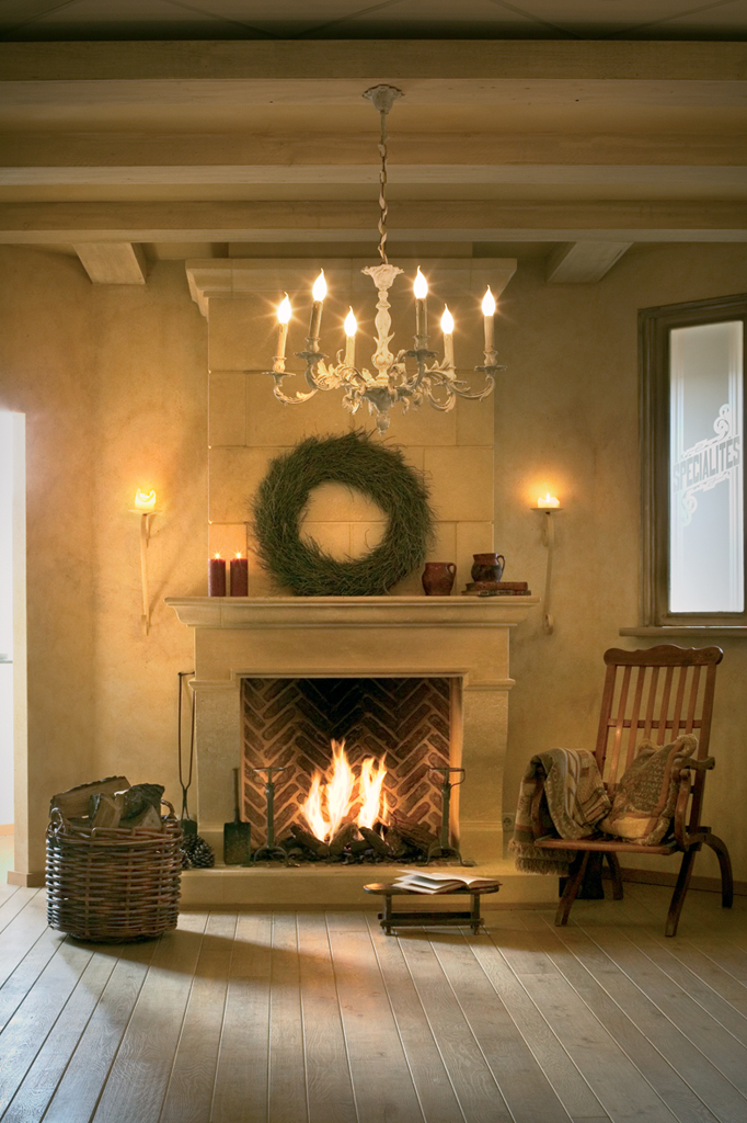Small gas log fireplace fireplace design ideas for Small fireplace ideas