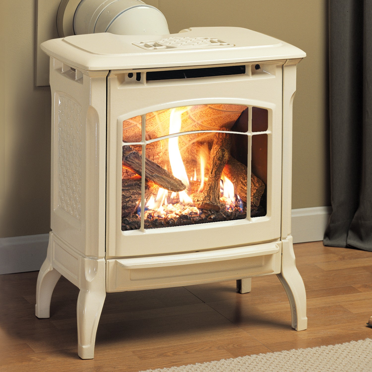 Small gas stove fireplace fireplace design ideas for Small fireplace ideas